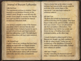 Journal of Bravam Lythandas