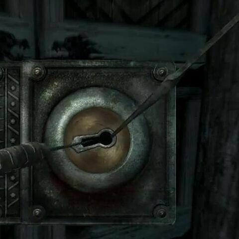 Otwieranie zamka w Skyrim
