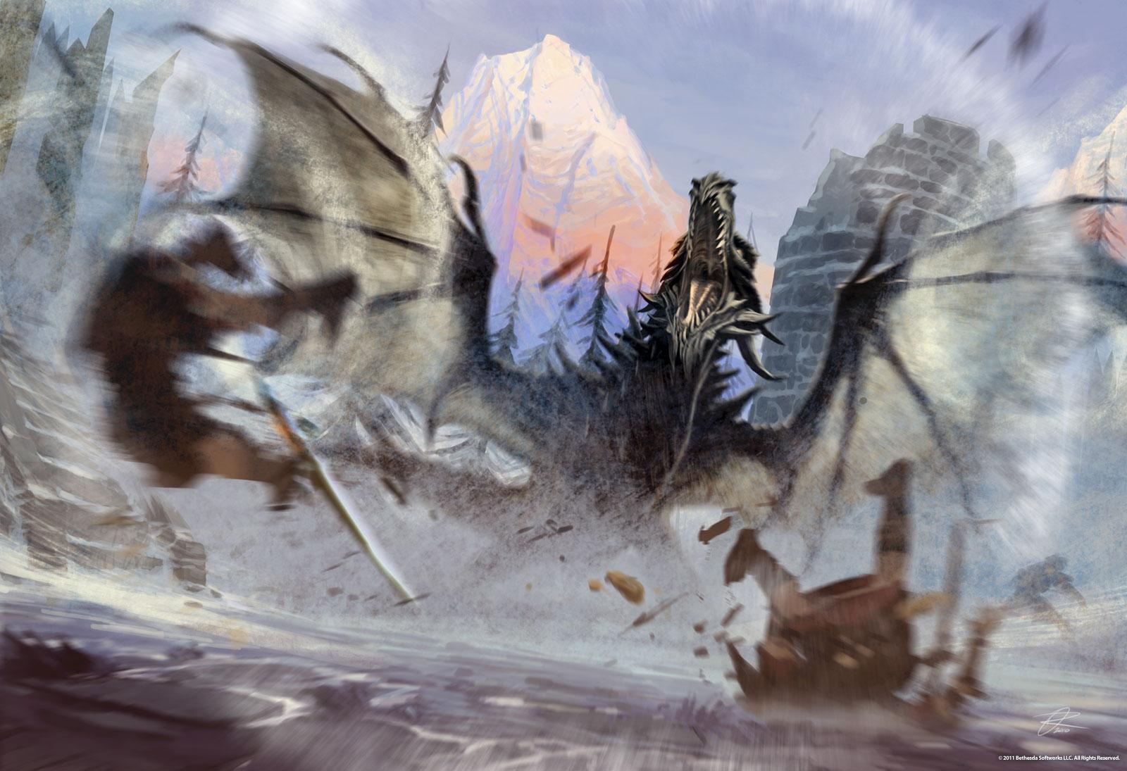 Drachenschrei | Elder Scrolls Wiki | FANDOM powered by Wikia