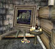 Gemälde im Westturm