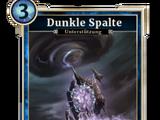 Dunkle Spalte