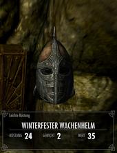 Winterfester Wachenhelm