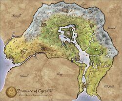 Karte von cyrodiil 1