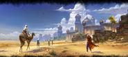 Alik'r-Wüste Ladebildschirm
