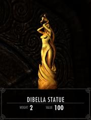Dibella Statue aus Skyrim