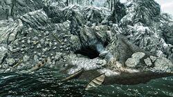 Grotte des zerbrochenen Ruders