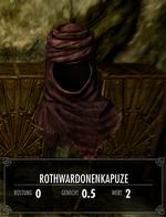 Rothwardonenkapuze