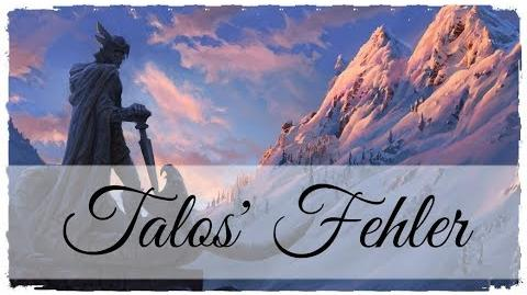 The Elder Scrolls V Skyrim Buch - Talos' Fehler German Deutsch