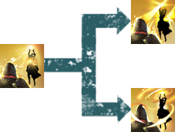 Übergang Morphs