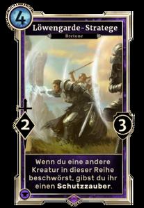 Löwengarde-Stratege