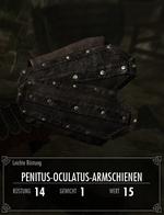 Penitus-Oculatus-Armschienen