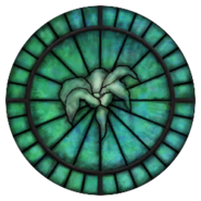 Dibella Stained Glass Circle