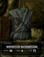 Winterfester Wachenrüstung
