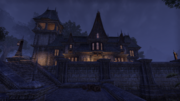 Düsteres Herrenhaus Nacht
