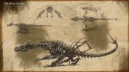Drachenskelett Artwork
