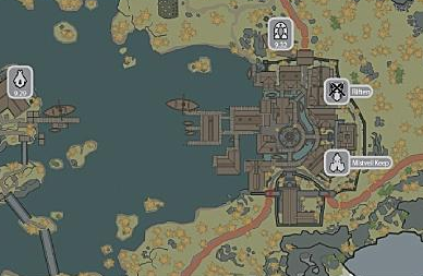 Map of Riften