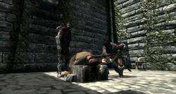 Roggvirs Hinrichtung.