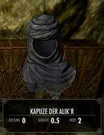Kapuze der Alik'r