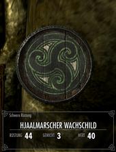 Hjaalmarscher Wachschild