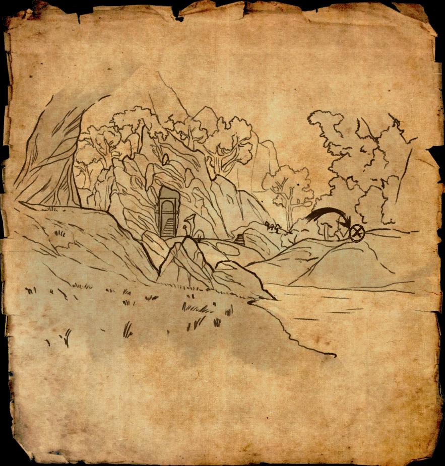 Deshaan Treasure Map on