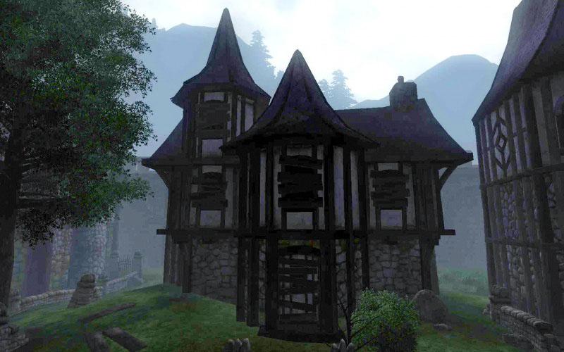 Verlassenes Haus Cheydinhal Elder Scrolls Wiki FANDOM Powered - Minecraft hexenhauser