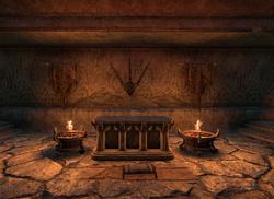 ESO M Ahnengrab Altar
