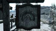 Zum Wnidigen Gipfel Schild