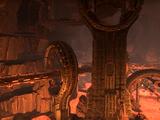 Gewölbe der Stadt der Uhrwerke
