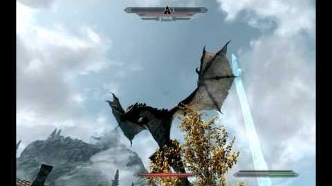 Skyrim - Drachenschreie - Drachenfall