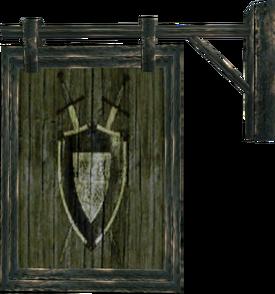 Wappen der Kriegergilde (Morrowind)