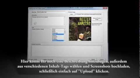 Skyrim Creation Kit und Steam Workshop Preview *Deutscher Untertitel*