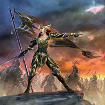 Battlereeve of Dusk card art