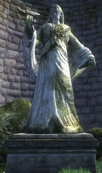 Nine statue zenithar
