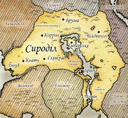 Карта Сироділа