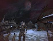 Вовкулака від першої особи у селищі скаалів (Bloodmoon)