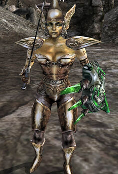 Golden Saint Morrowind