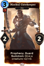 Morkul Gatekeeper альтернативна версія