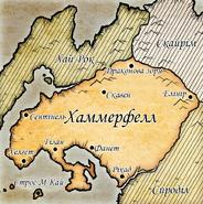 Карта Хаммерфеллу