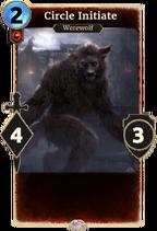 Circle Initiate werewolf