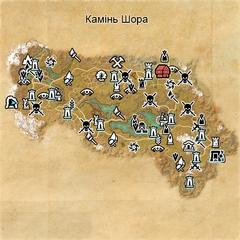 Камінь Шора (карта)