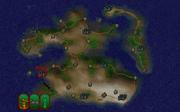 Місто Алінор на мапі