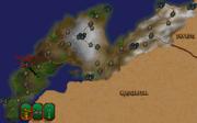 Камлорн на мапі (Arena)