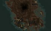 Тель Мора на мапі