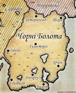 Карта Аргонії