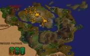 Блеклайт на карті