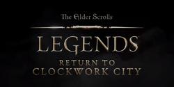 Return to Clockwork City logo