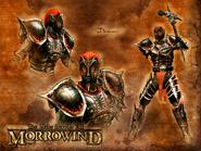 Дремора (Morrowind) завантажувальний екран