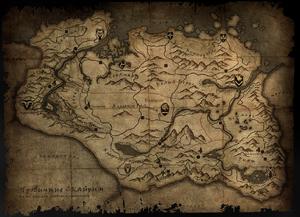 Карта Скайріму