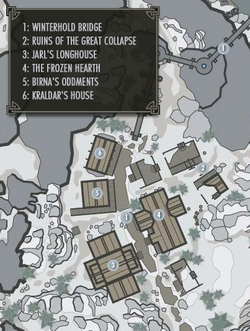 Вінтерхолд (Skyrim) план