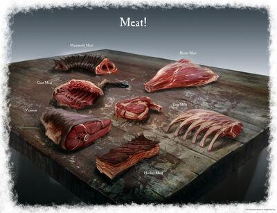 М'ясо Skyrim концепт-арт